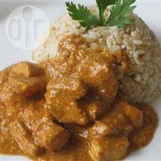 Foto da receita: Frango ao curry - receita fácil