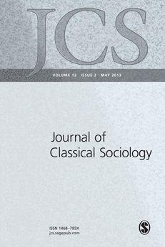 Journal of Classical Sociology: SAGE Journals Sociology, Sage, Theory, Cover, Journals, Salvia, Journal Art, Journal, Writers Notebook