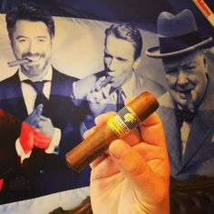 Day 2 #bigsmoke #amsterdam : Sampling the new Cohiba Medio Siglo for the first time with some famous friends. As you can see Mr Churchill is somewhat perplexed by the small smoke.  Great that LCDH Almere is right next to the hotel   . . #botl #cigaroftheday #cubancigars #cigar #whiskywingman #howiroll #instalife #showpony #justwingit #doyouevendrambro #cigartime #cigarsmoker #nowsmoking #cigarstyle #cigarsocial #cigarworld #cigarporn #cigaraficionado #cigars #scottishcigarsmoker…