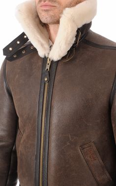 Bombardier LC1259 Marron Schott Schott, Peau Lainee, Bomber Jacket, Jackets, Fashion, Canadian Horse, Polar Fleece, Conkers, Down Vest
