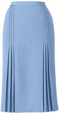 AmeriMark Tucks & Pleat Skirt at Amazon Women's Clothing store: