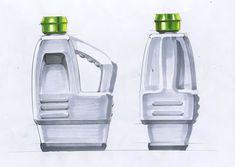 Bottle form idea sketch at sadi 2010