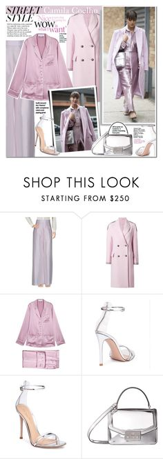 """""""Camila Coehlo"""" by mery90 ❤ liked on Polyvore featuring Tiffany & Co., Giorgio Armani, Ermanno Scervino, Olivia von Halle, Gianvito Rossi, Ralph Lauren and Tory Burch"""