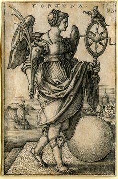 Hans Sebald Beham... Fortuna...1541