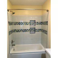 Bathroom Tile Designs, Bathroom Interior Design, Bath Tub Tile Ideas, Bathroom Tile Showers, Bathroom Bench, Shower Backsplash, Condo Bathroom, Shower Designs, Modern Bathroom