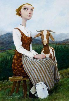 12-Beaux tableaux de Fred Calleri