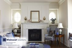 At Wainscot solutions, we put a great amount of detail into our beautiful fire place surrounds. Visit our website at: http://www.wainscotsolutions.com/