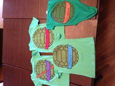 Ninja turtle shirts for birthday party
