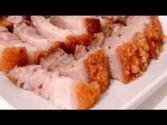 ▶ How to make Crispy Roast Pork - Thịt heo quay - YouTube