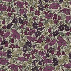 Liberty Fabric, Poppy and Daisy Fuchsia