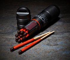 For IV's survival kit-- Exotac Matchcap Waterproof Match Case – $21