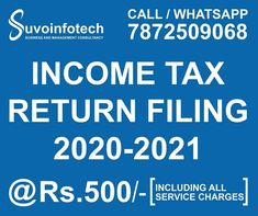 Income Tax Return Filing, Call Me, Management