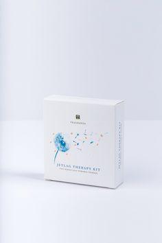 Jetlag Therapy Kit — The Dieline - Branding & Packaging