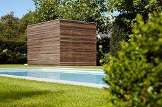 Modern tuinhuis in Padoek   Bogarden