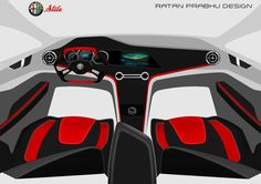 """Check out my @Behance project: """"Alfa Romeo Stile Concept"""" https://www.behance.net/gallery/49256551/Alfa-Romeo-Stile-Concept"""
