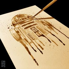 Star Wars + Coffee + Art = Caffeinated Nerdgasm