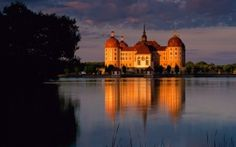 WALLPAPERS HD: Moritzburg Castle Germany