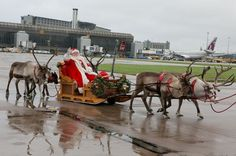 The Christmas marks the end of a good year at Manchester Airport. Make your parking reservations as soon as possible.