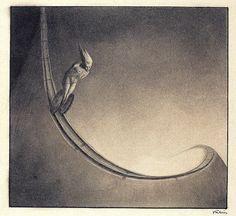 Alfred Kubin - Man, 1902 by Aeron Alfrey, via Flickr