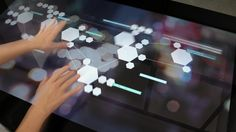 Tangible UX/UI for Fraunhofer ISI @ Hannover Messe by Marion Wagner, via Behance