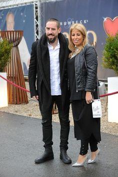 Franck Ribery (Bayern Munich) & Wahiba Ribery