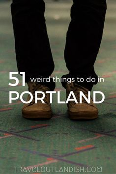 Weird + Fun Things to do in Portland Portland is just as weird as you expect. 51 weird + fun things to do in PortlandPortland is just as weird as you expect. 51 weird + fun things to do in Portland Oregon Vacation, Oregon Road Trip, Oregon Travel, Travel Usa, Oregon Tourism, Travel Portland, Portland City, Forest Park Portland, High Road