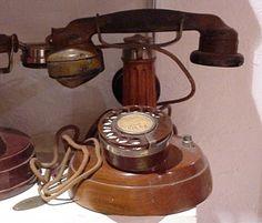 Téléphone P.T.T. Dunyach & Leclerc de 1924