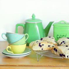 Cakes in the city: Blueberry scones