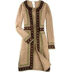 Anna Sui Metallic thread long cardigan Womens Jacket - review, compare prices, buy online