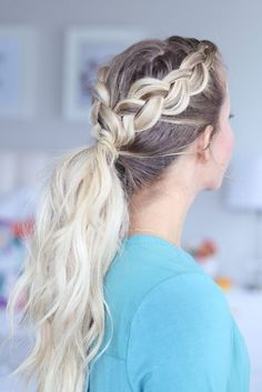 Braided hairstyles are the bomb! They're neat, dainty and very pretty! Check out these 15 braided hairstyles and pick your favorite! Have great hair day!