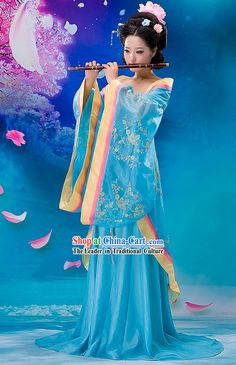 439682fc5 Tang Dynasty Princess Clothes, Wig and Hair Accessories for Women Chinese  Traditional Costume, Korean