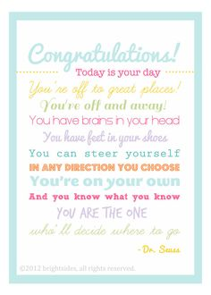 The Graduate  5x7  Graduation Gift  girl by brightsidesdesigns, $9.00