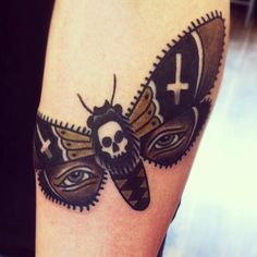 Matt Cooley // traditional style butterfly design