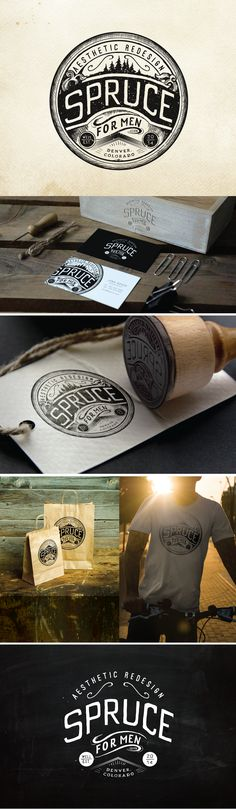 Spruce - Aesthetic Redesign for Men | 99designs