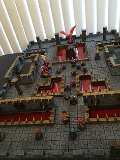 Hirst Arts, Game Terrain, Dragon Crafts, D&d Dungeons And Dragons, Tiny World, D Craft, Tabletop Rpg, Miniature Houses, Stop Motion