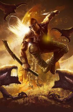 Riddick by madadman on DeviantArt
