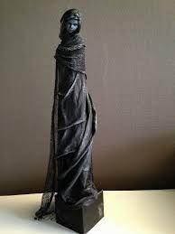 sculptures powertex - Google Search Mixed Media Sculpture, Sculpture Art, Paper Clay, Mixed Media Canvas, Fabric Art, Female Art, Unique Art, Art Dolls, Sculpting