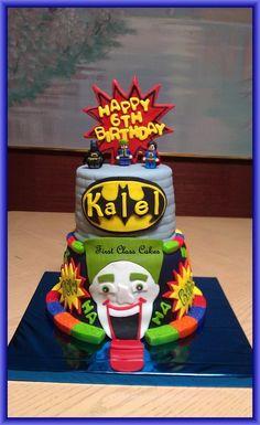 Lego Batman Cake - by First Class Cakes @ CakesDecor.com - cake decorating website