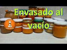 Vacuum Packaging Food - Vacuum food package at home - Vacuum packed food/FyRAmpisRecetas Cooking, Tips, Vacuum Packaging, Videos, Youtube, Arrows, Shape, Home Canning, Jelly