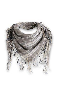 Esprit : Foulard sfrangiato 100% lino nel nostro shop on-line