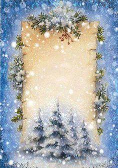 Merry Christmas From Porter Joe Love My New Home Christmas Border, Christmas Frames, Christmas Scenes, Christmas Background, Christmas Paper, Vintage Christmas Cards, Christmas Pictures, Vintage Cards, Christmas Holidays