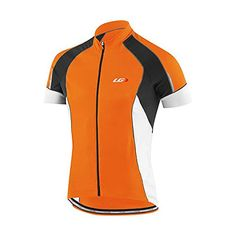 924f28d3d Louis Garneau Men s Lemmon Vent Short-Sleeve Jersey - X-Large - Orange Fluo
