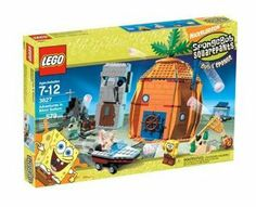 LEGO SpongeBob Adventures at Bikini Bottom by LEGO. $204.97. Shoot some hoops in SpongeBob's pineapple home or watch some T.V. in Patrick's house. Explore the ocean bottom and go for a ride in Patrick's motor boat, or join SpongeBob and Patrick in a great jellyfish adventure. Includes Patrick's motor boat with a pull-back motor, plus SpongeBob, Squidward, and Gary minifigures. From the Manufacturer                Pay a visit to SpongeBob's pineapple home under the sea in B...
