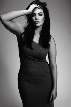 Ashley Graham 36 inch bust, 34 inch waist, 47 inch hip