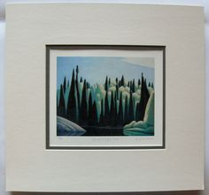 $34.99  Lawren Harris Group OF Seven Spring Oxtongue River Limited Edition ART Print | eBay
