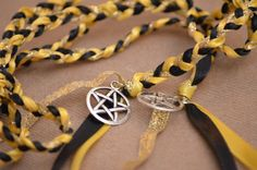 WICCAN  Pentagram New Age  Wedding Handfasting Cord by ASimpleVow, $18.00
