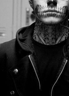 "Evan Peters ""Tate Langdon"" / American Horror Story Black & White Photography"