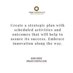 @dianecossie posted to Instagram: Set yourself up for success in 2020 by crafting a clear, concise strategic plan. Success does not happen by accident. . . . . ..  #entrepreneurlifestyle #projectlifestyle #projectlifestyleclub #bosslady #womenwhohustle #beyourownboss #ladypreneur #femalentrepreneur #shemeansbusiness #moneymaker #successquotes #motivationalquotes #womenwithclass #bossbabe #girlboss #ambition #ladyboss #womensupportingwomen #bossbabes #womenentrepreneurs #womeninbusiness… Lifestyle Club, Uplifting Words, Creating A Business, Strategic Planning, Be Your Own Boss, Along The Way, Success Quotes, Things To Think About, Leadership