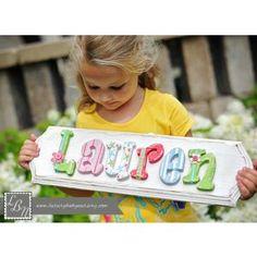 Custom Name Plaque- Luxury Baby Nursery