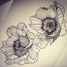 Twix Flowers! Dispo pour être tatoué! Pour réserver >>…